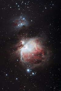Orion Nebula taken on 30th September over Mull between 3am and 4am.