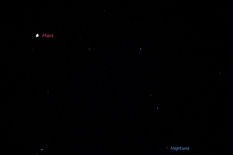 Mars And Neptune 12/9/18