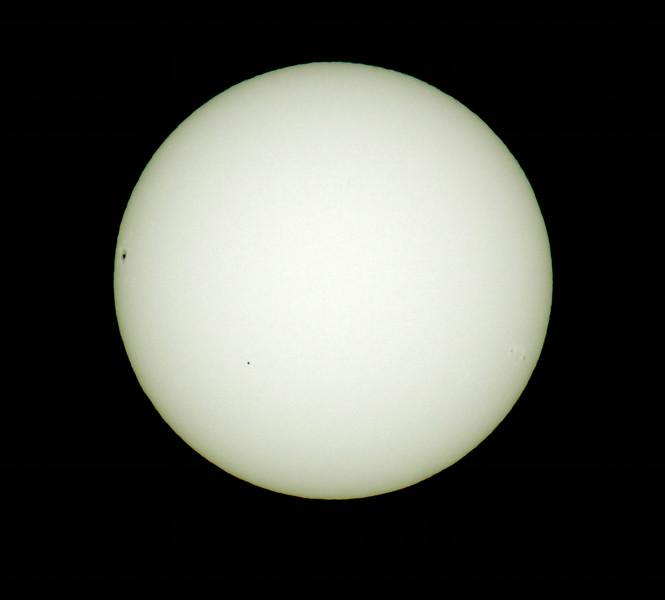 Transit Of Mercury, 11/8/2006