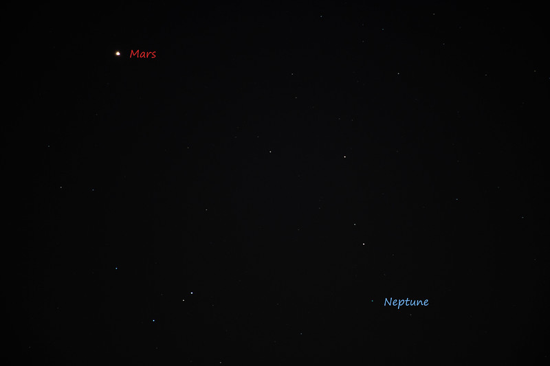 Mars And Neptune 12/10/18