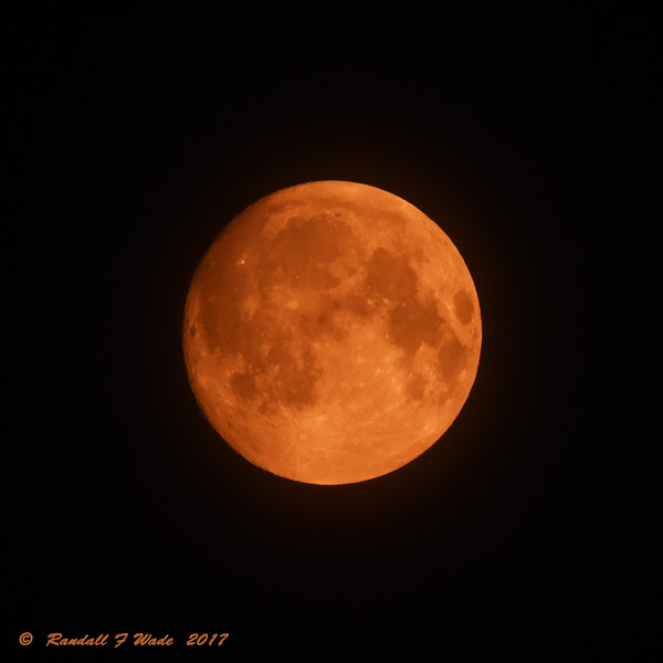 Western Wildfire Moon