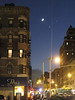 Planetary conjunction (Jupiter, Venus and Moon) over 96th and Madison, New York City, December 1, 2008