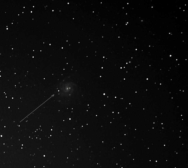 M51 Supernova 2011