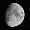 June 21 Waxing Gibbous moon