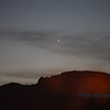 Evening star- Planet Venus over Mt Charleston