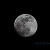 2 days before full moon thru a 300 mm focal length