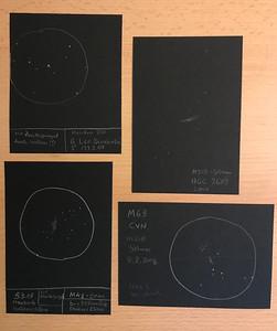 NGC2683 - M63 - Beta Leonis - M42