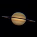 2009 APR: Saturn mit 6m Brennweite aufgenommen
