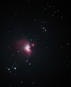 2004 NOV: Tak+Nikon+UHC schaffen die Farben des Orionnebels festzuhalten