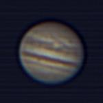 2008 JUL: Jupiter's GRF ist endlich sichtbar