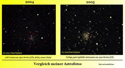 2005 JUNI: Kreisrunde Sterne in M56
