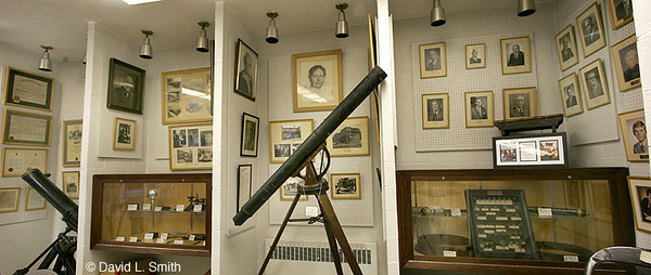 This is the first telescope John Brashear looked through as a boy in Brownsville, PA Fayette County.
