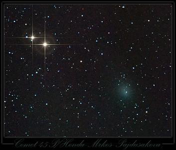 Comet 45 P/Honda Mrkos Pajdusakova