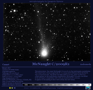 McNaught_C2009R1_COM_And