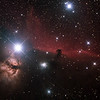 IC434 Horsehead and NGC2024 Flame Nebulae in Orion