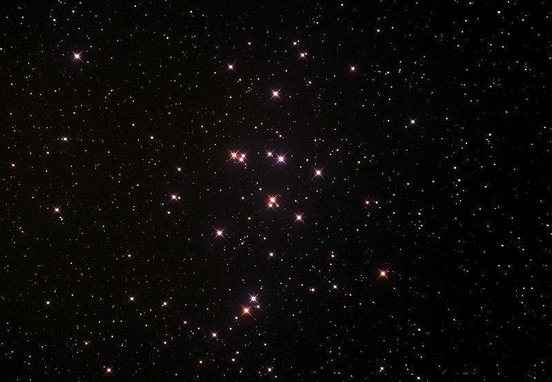 Messier M44 - NGC2632 - Praesepe or Beehive Cluster- 21/2/2015 (Processed cropped stack)