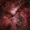 Caldwell 92 Eta Carinae Neblua - 22/3/2015 (Processed cropped stack)