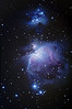 M42 Orion Nebula, 5 January 2008  <br /> Unguided, Prime focus Vixen R200 Reflector, Nikon D300<br /> ISO 200, 60 x 180 sec exposures, 10 x 30 sec exposures, 3 dark frames