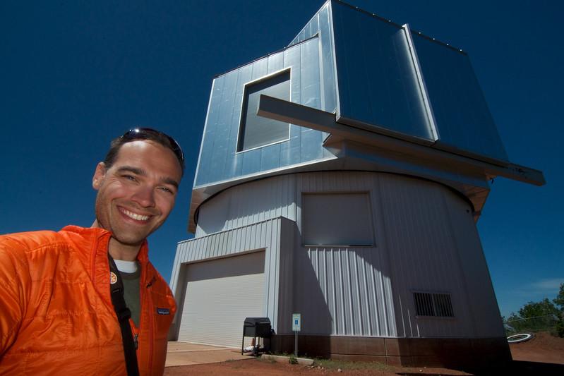 Me.  Telescope.  Need I write more?