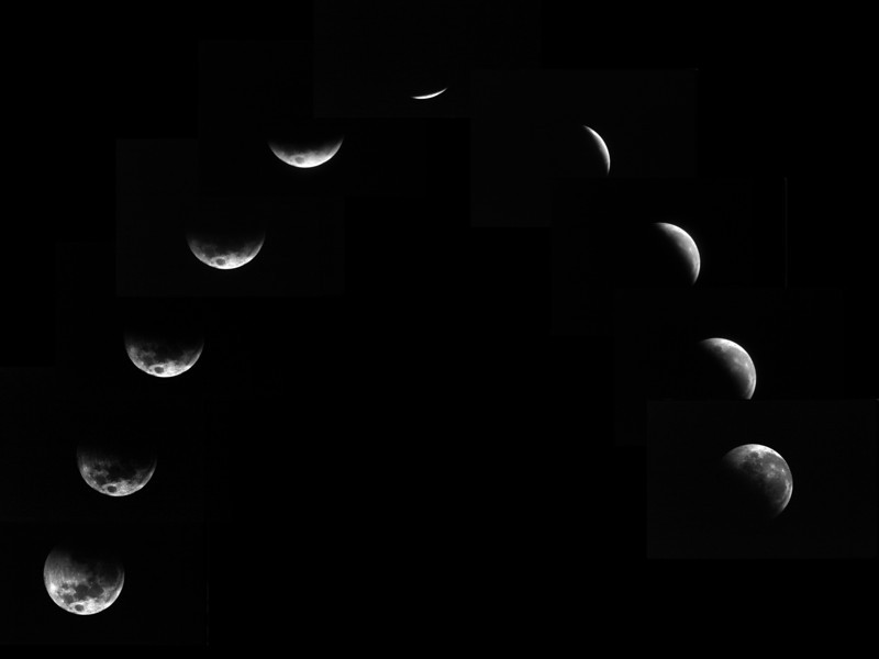Lunar Eclipse 17/09/1978 -Umbral stages only