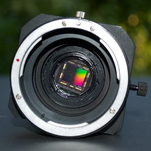 The powerful Sony ICX814 sensor with Anti Blooming