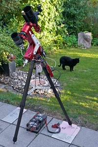 A portable f/2 narrowband astrophotography machine.
