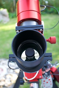 A smart guiding scope