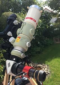 Daystar eyepiece on FSQ-85