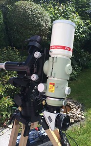 FSQ-85 on Losmandy G11