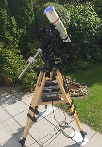 The complete Ha telescope setup
