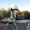 Telescope setup at Perth Observatory to Photograph Pleiades occultation by the Moon - 15/1/2011