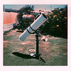 "8"" Newtonian Reflector in the backyard of my parents Bull Creek home late-1978"