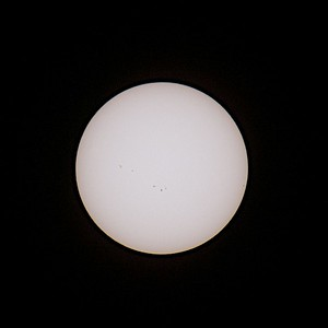 The Sun at 220mm