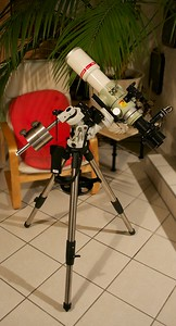 A portable setup for astrophotography