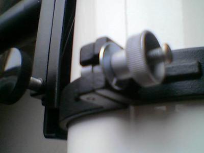 Eigenbau: Ringe an den Schrauben der Rohrschellen