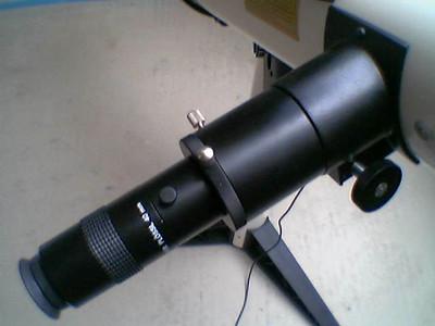Okularauszug 2 Zoll Barlow 2x 40mm Okular