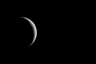 Moon near Aldebaran