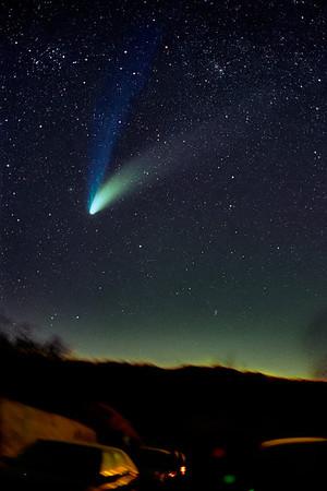 Comet Hall-Bopp  Minolta 50 mm f/ 1.80