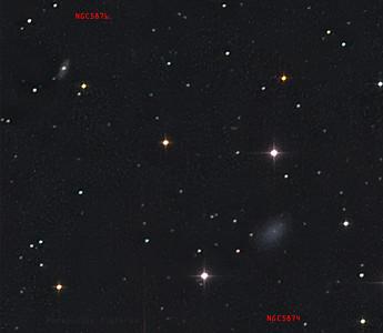 NGC5874 and NGC5876