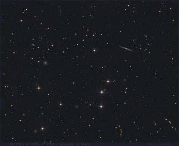 Galaxies in Draco