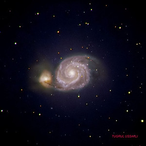 M51 Whirlpool Galaxy  10/5/2005 LRGB : 42/16/16/16 Total: 90 min exposure