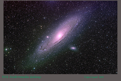 M31 Andromeda Galaxy 25/09/2009  Telescope  : Takahashi FSQ-106ED f/5 Camera      : SBIG STL-11000M CCD  Capture  : L 12x5 min RGB, each 5x5 min, total: 135 min  Processing : MaximDL, Images Plus 3.5, Photoshop CS2