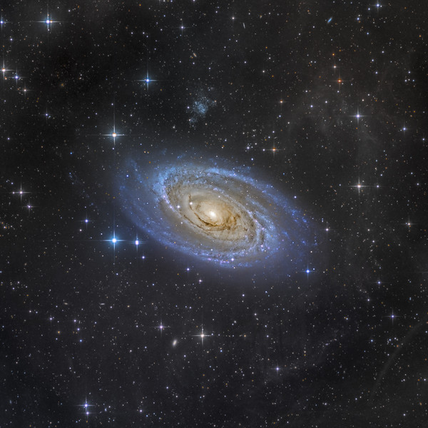 M81 - LRGB