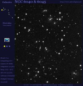 NGC6040 and NGC 6045