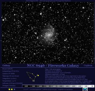 NGC6946 in Cepheus