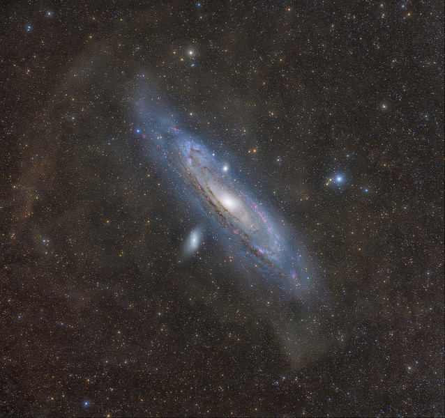 Andromeda's Halo/IFN/Stellar Streams - LHa(HaR)GB