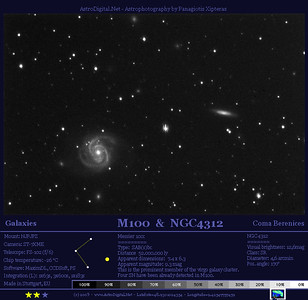 M100 in Coma Berenices