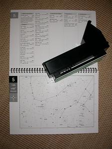 SUPER: Unten die Sternkarte. Oben die Objekte beschrieben!