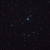 Caldwell 102 - IC2602 - Southern Pleiades or Theta Carina Cluster - 23/2/2011 (Processed single in-camera dark)