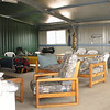 First Wagin Astrophotography field trip March 2011 - 5/3/2011 - panorama of 'The Shed'